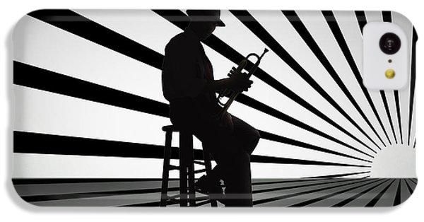Cool Jazz 2 IPhone 5c Case by Bedros Awak