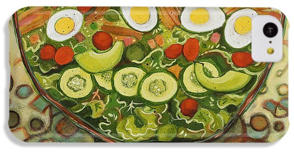 Cool Summer Salad IPhone 5c Case by Jen Norton
