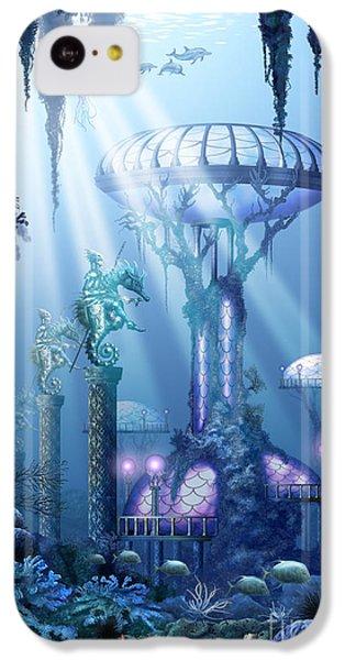 Coral City   IPhone 5c Case by Ciro Marchetti