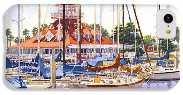 Coronado Boathouse IPhone 5c Case by Mary Helmreich