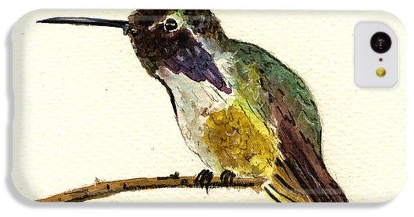 Costa S Hummingbird IPhone 5c Case by Juan  Bosco