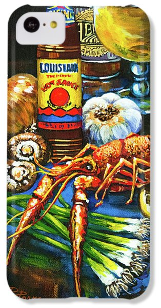 Crawfish Fixin's IPhone 5c Case by Dianne Parks