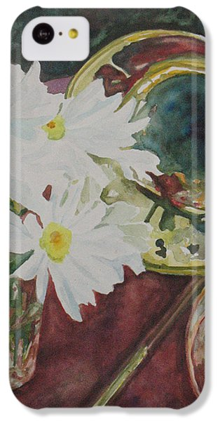 Daisies Bold As Brass IPhone 5c Case by Jenny Armitage