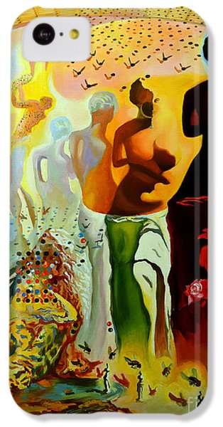 Dali Oil Painting Reproduction - The Hallucinogenic Toreador IPhone 5c Case by Mona Edulesco