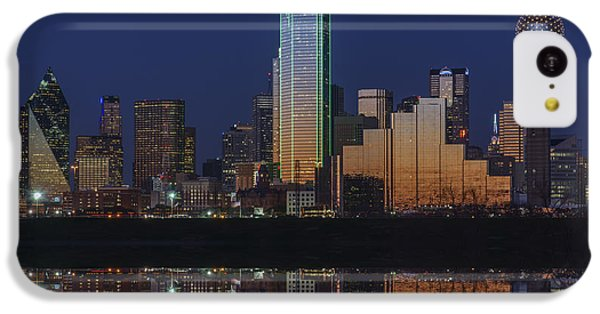 Dallas Aglow IPhone 5c Case by Rick Berk