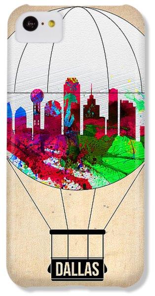 Dallas Air Balloon IPhone 5c Case by Naxart Studio