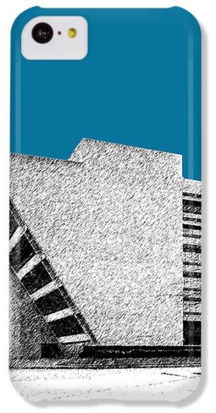 Dallas Skyline City Hall - Steel IPhone 5c Case by DB Artist