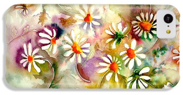 Dance Of The Daisies IPhone 5c Case by Neela Pushparaj