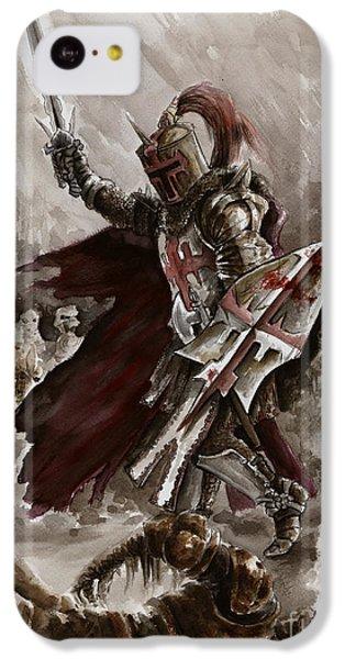 Dark Crusader IPhone 5c Case by Mariusz Szmerdt