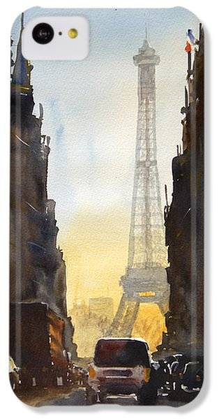 Dawn In Paris IPhone 5c Case by James Nyika