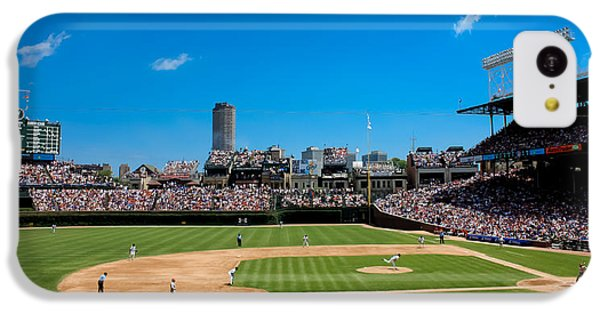 Day Game At Wrigley Field IPhone 5c Case by Anthony Doudt