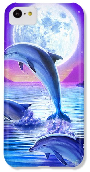 Day Of The Dolphin IPhone 5c Case by Robin Koni