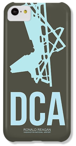 Dca Washington Airport Poster 1 IPhone 5c Case by Naxart Studio