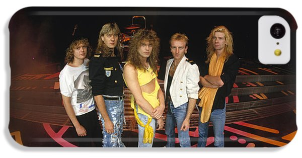 Def Leppard - Round Stage 1987 IPhone 5c Case by Epic Rights