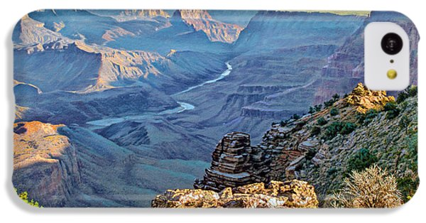 Desert View-morning IPhone 5c Case by Paul Krapf