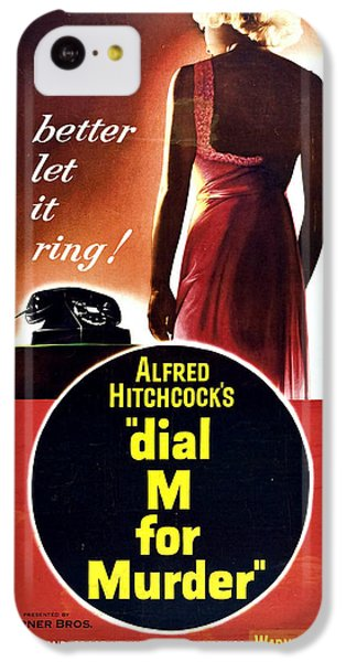Dial M For Murder - 1954 IPhone 5c Case by Georgia Fowler