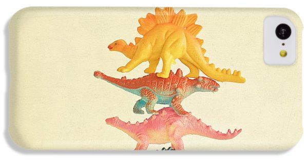 Dinosaur Antics IPhone 5c Case by Cassia Beck
