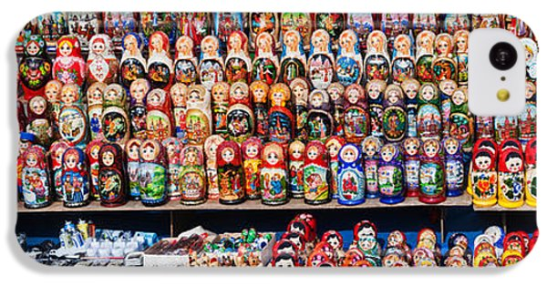 Display Of The Russian Nesting Dolls IPhone 5c Case by Panoramic Images