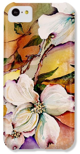 Dogwood In Spring Colors IPhone 5c Case by Lil Taylor