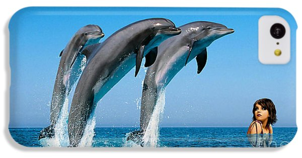 Dolphin Dreams IPhone 5c Case by Marvin Blaine
