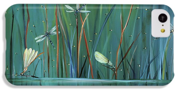 Dragonfly Diner IPhone 5c Case by Carol Sweetwood