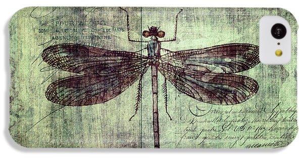 Dragonfly IPhone 5c Case by Priska Wettstein