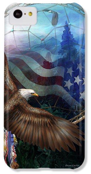 Dream Catcher - Freedom's Flight IPhone 5c Case by Carol Cavalaris