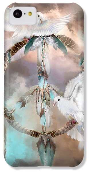 Dreams Of Peace IPhone 5c Case by Carol Cavalaris