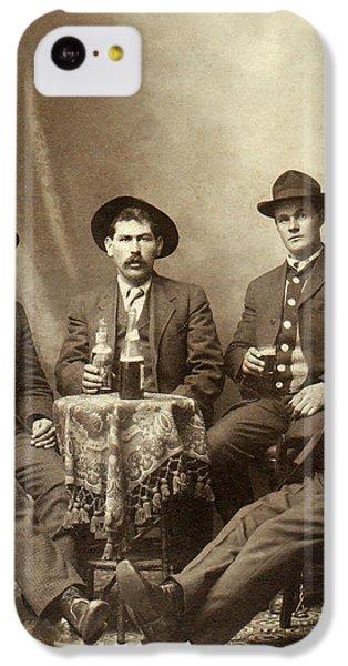 Drinking Buddies IPhone 5c Case by Jon Neidert