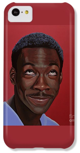 Eddie Murphy Painting IPhone 5c Case by Paul Meijering