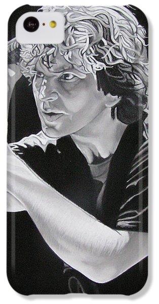 Eddie Vedder Black And White IPhone 5c Case by Joshua Morton