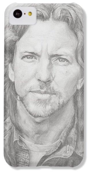 Eddie Vedder IPhone 5c Case by Olivia Schiermeyer