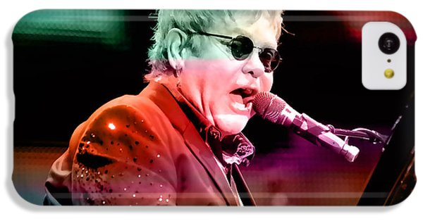 Elton John IPhone 5c Case by Marvin Blaine