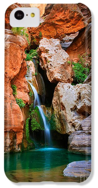 Elves Chasm IPhone 5c Case by Inge Johnsson