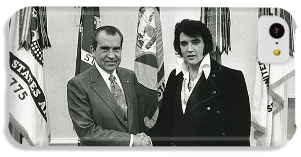 Elvis And Nixon IPhone 5c Case by Unknown