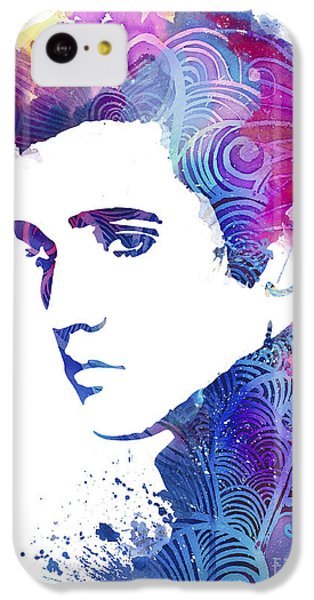 Elvis Presley IPhone 5c Case by Luke and Slavi