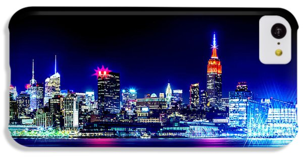 Empire State At Night IPhone 5c Case by Az Jackson