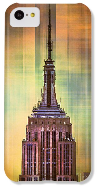 Empire State Building 3 IPhone 5c Case by Az Jackson
