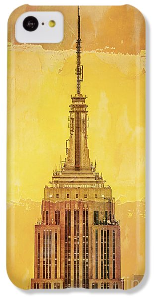 Empire State Building 4 IPhone 5c Case by Az Jackson