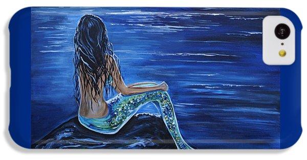 Enchanting Mermaid IPhone 5c Case by Leslie Allen