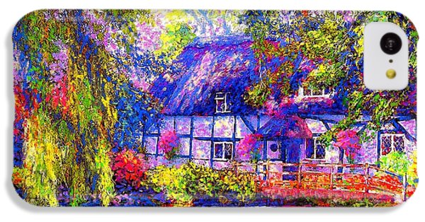English Cottage IPhone 5c Case by Jane Small