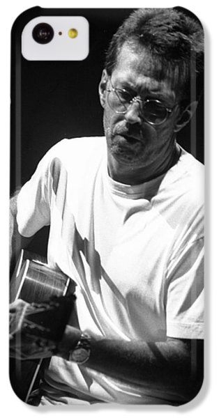 Eric Clapton 003 IPhone 5c Case by Timothy Bischoff