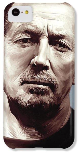Eric Clapton Artwork IPhone 5c Case by Sheraz A