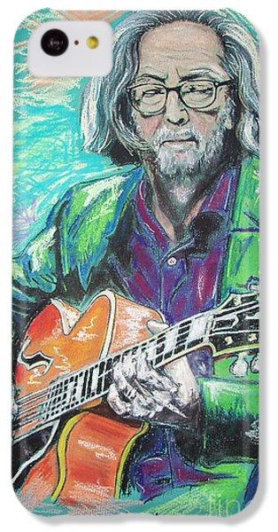 Eric Clapton IPhone 5c Case by Melanie D