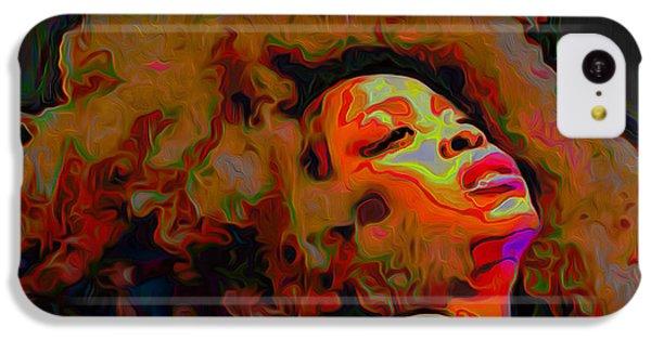 Erykah Badu IPhone 5c Case by  Fli Art