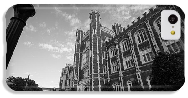 Evans Hall In Black And White IPhone 5c Case by Nathan Hillis
