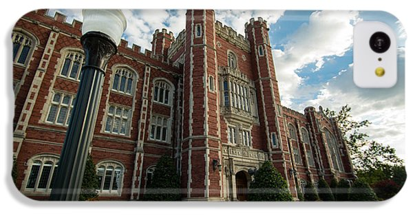 Evans Hall In The Evening IPhone 5c Case by Nathan Hillis