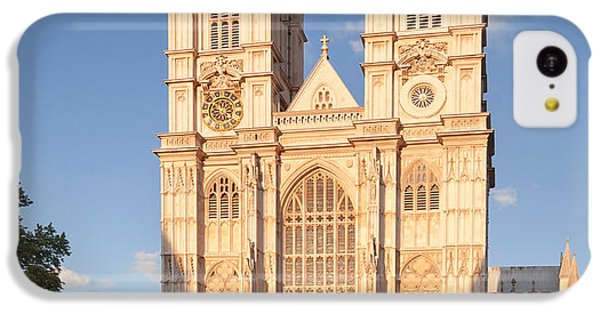 Facade Of A Cathedral, Westminster IPhone 5c Case by Panoramic Images