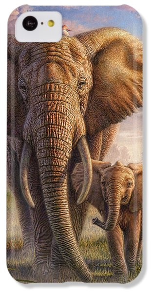 Family Stroll IPhone 5c Case by Phil Jaeger