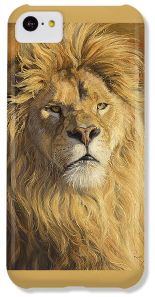 Fearless - Detail IPhone 5c Case by Lucie Bilodeau